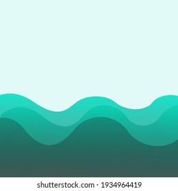 Wavy background design with navy blue color. useful for backgrounds, covers, illustrations, etc.