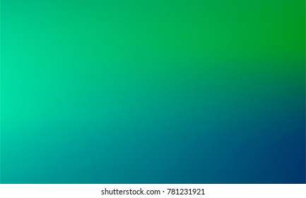 Wavy Blue and Green Gradient