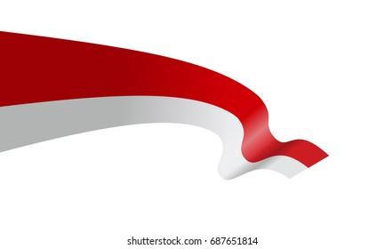 wavy flag indonesia vector illustration stock vector royalty free 687651814 wavy flag indonesia vector illustration