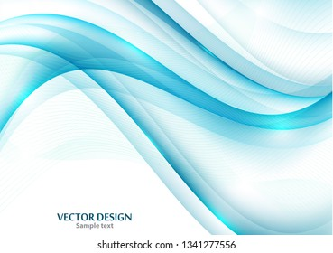 Wavy stripes Trendy curve line background. Abstract background with wavy lines. Wavy stripes for web design, website, wallpaper, banner, presentation, cover. Futuristic wavy background. Modern