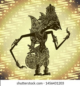 Wayang kulit rama shadow puppet - Indonesian art