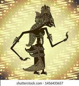 Wayang kulit shinta shadow puppet - Indonesia art