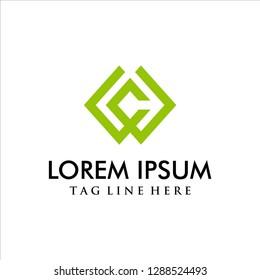 Wc logo concept, business logo, wc logo monogram