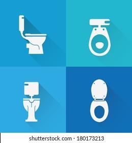 Wc ,Toilet icons