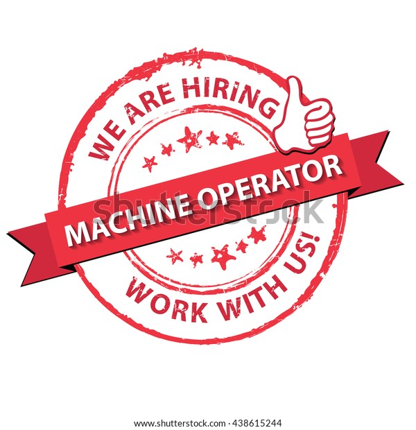 Image result for hiring Machine Operator