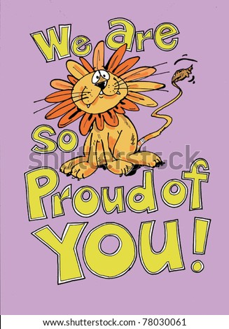 We Proud You Stock Vector Royalty Free 78030061 Shutterstock