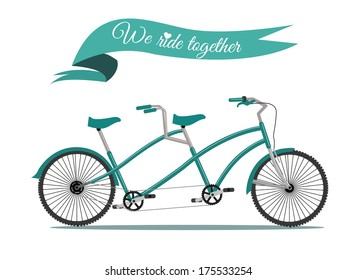 How to ride a tandem bike video