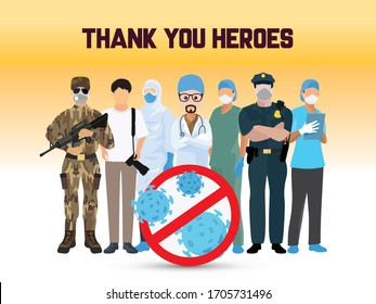 We will win against the Corona virus. Thank you to all the warriors who have been fighting for us in this crisis. Doctor, Nurse, Police, Army, Cleaner and fighter respect to you from heart.