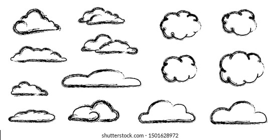 Weather cloud speech bubble sky and Clouds Vector icon icons sign signs fun funny cartoon cartoons strips drawn drawing stroke air heaven cloudscape panorama line abstract blue sun rain rainy day snow
