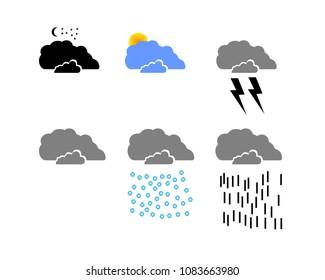 Weather Illustration Vector