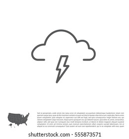 weather (thunderstorm) icon