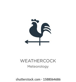 Weathercock icon vector. Trendy flat weathercock icon from meteorology collection isolated on white background. Vector illustration can be used for web and mobile graphic design, logo, eps10
