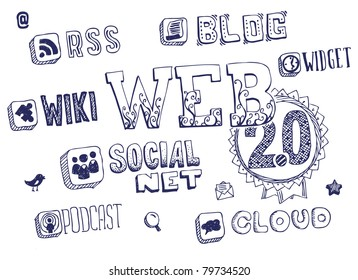 Web 2.0 doodles