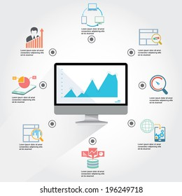 web analytics infographic