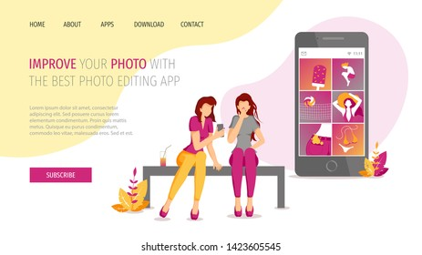 Photo Editing App Images, Stock Photos & Vectors | Shutterstock