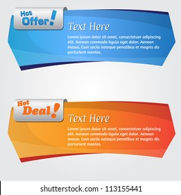 Web Banner Element