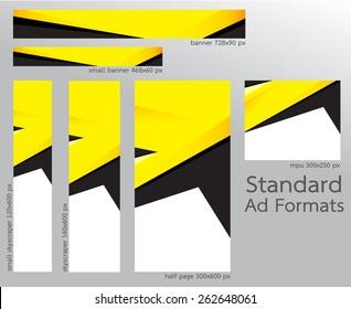 Web Banner Templates (Standard Ad Formats)