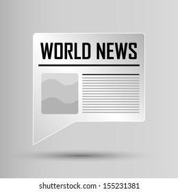 Web Button - World News