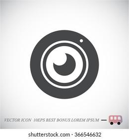 web camera icon Vector icon 10 EPS