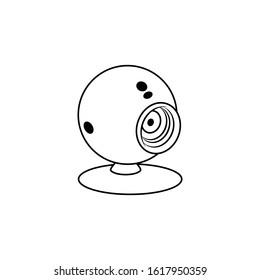web camera icon vector illustration