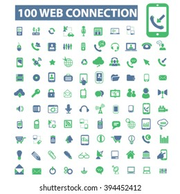 web connection icons