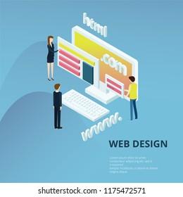 Web Desig Concept