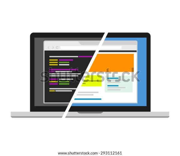 web design code designer programmer editor