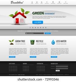 Web Design Website Elements Bright Template