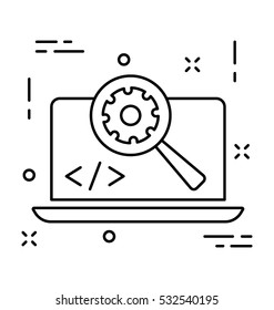 Web Development Vector Icon
