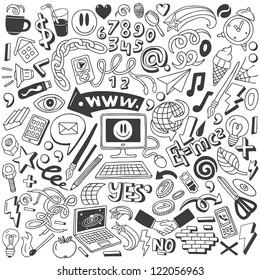 web doodles collection