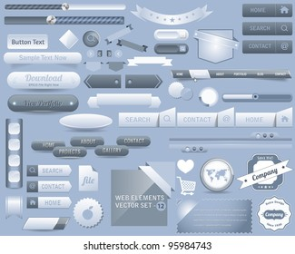 Web Elements Vector Design
