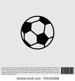 Web icon. Football