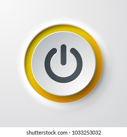 web icon push-button power