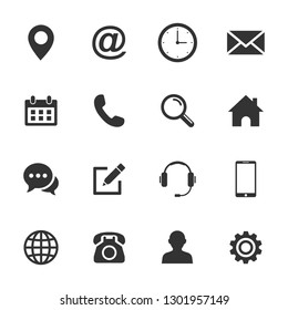 Web icon set. Set of web icon symbol vector. for web computer and mobile