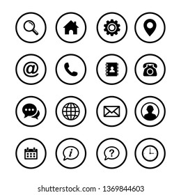 Web icon set. Set of web icon symbol vector. computer and mobile icons