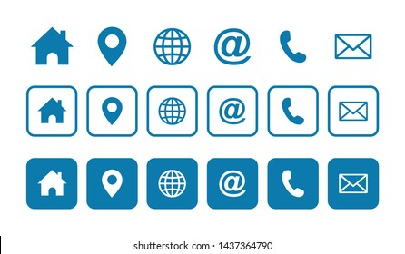 Web icon set. Website set icon vector. for computer and mobile