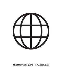 web icon vector. flat symbol sign.