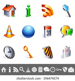 Web icons collection.