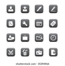 web icons, office