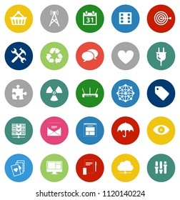 web icons set, communication Icons, media, computer and mobile icons - website and mobile phone apps
