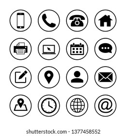 Web icons set. Web design icon. computer and mobile icons. phone, laptop, call, web, telephone, chat, calendar, time, edit, address, power, printer, people, check home, like
