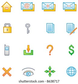 Web Icons Set (Vector) You'll find more similar icons in my portfolio