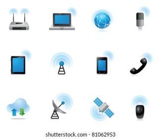 Web Icons - Wireless World