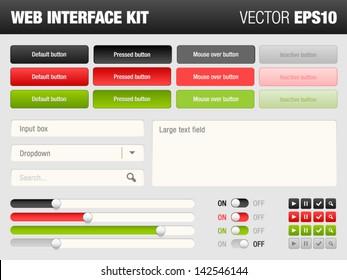 web interface kit
