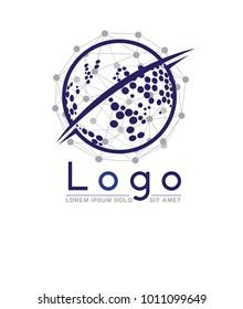 web, internet, network logo design