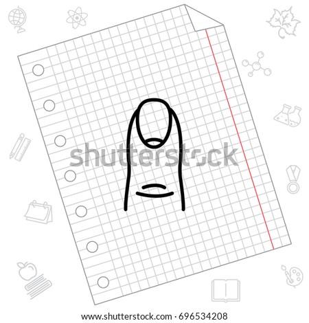 Nail Skin Diagram