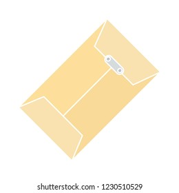 web mail message isolated vector - postal message illustration sign . secret correspondence buttons sign symbol