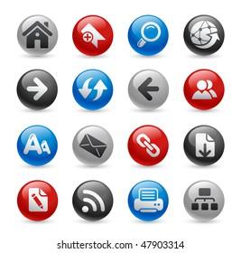 Web Navigation Icons // Gel Pro Series