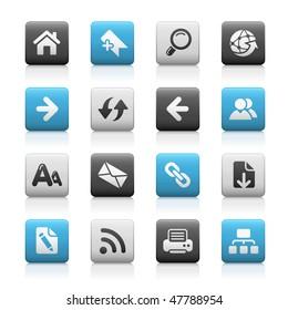 Web Navigation Icons // Matte Series