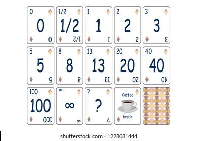 Planning Poker Images Stock Photos Vectors Shutterstock